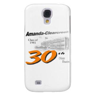 ACHS 30th class reunion logo Samsung S4 Case