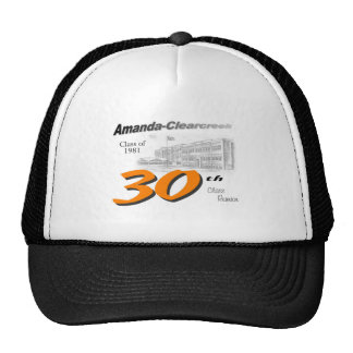 ACHS 30th class reunion logo Trucker Hat