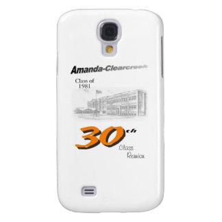 ACHS 30th reunion 8.5x11 tall logo Galaxy S4 Case