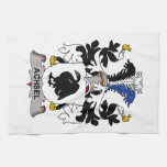 Achsel Family Crest Kitchen Towel