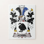 Achsel Family Crest Puzzle