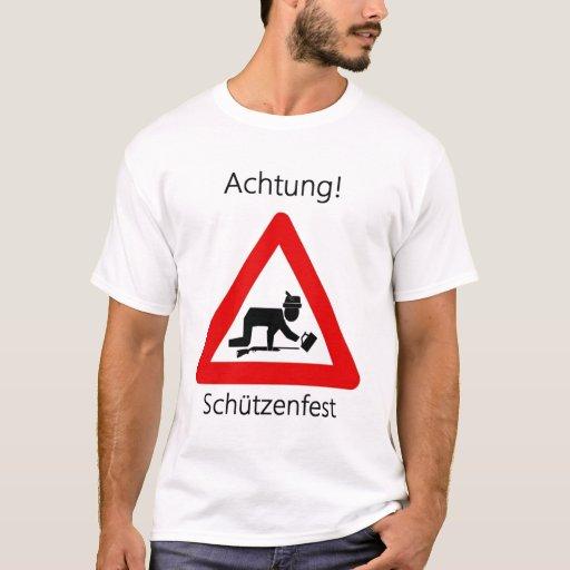 ¡Achtung! Schutzenfest Playera