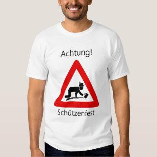 Achtung! Schutzenfest T-shirt