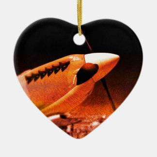 Achtung Spitfire! Ceramic Ornament