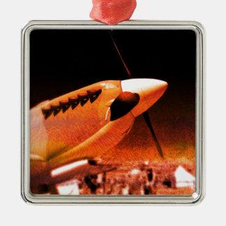 Achtung Spitfire! Metal Ornament