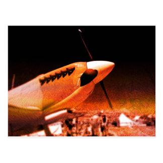 Achtung Spitfire! Postcard