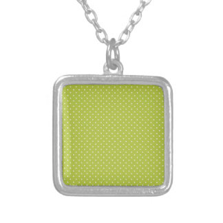 Acid-And-White-Polka-Dots Necklace