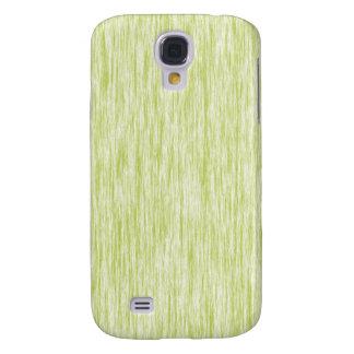 Acid-Apple-Green-Dark-Violet-Render-Fibers-Pattern Samsung Galaxy S4 Cover