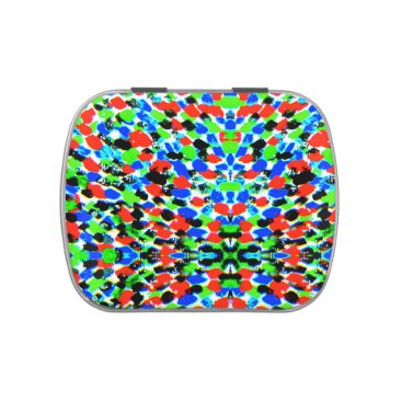 Professional Business Acid Bright Abstract Pattern Candy Tin