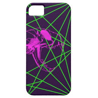 Acid Cat Skulls iPhone SE/5/5s Case