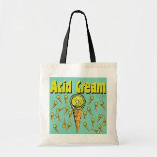 Acid Cream Tote Bag