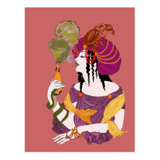 Acid Eyes Postcard