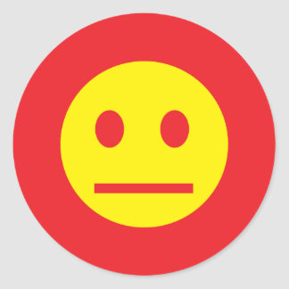Acid Generation Smiley Sticker