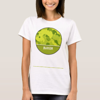 Acid Green Camo; Camouflage; Personalized T-Shirt