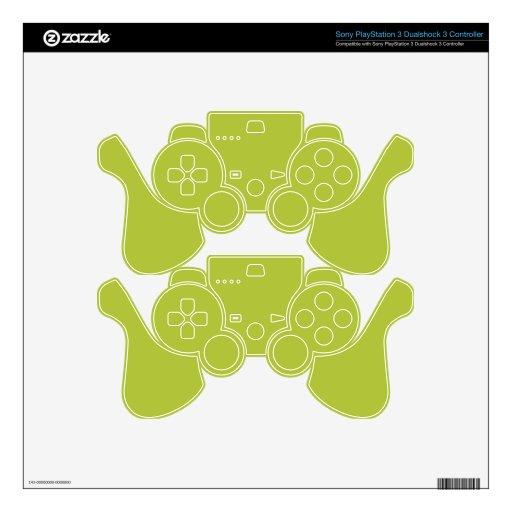 Acid Green Elegant Fashion Color Skin For PS3 Controller
