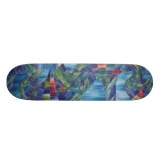 Acid grind skateboard