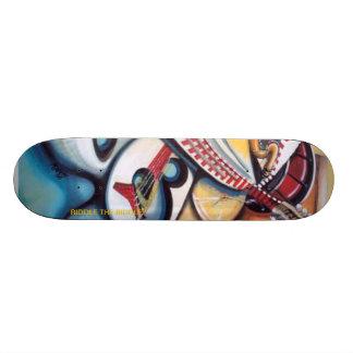 Acid Jazz by: Albert Riddle Skateboard