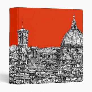 Acid orange cathedral 3 ring binder