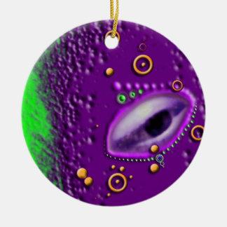 Acid Planet Ceramic Ornament