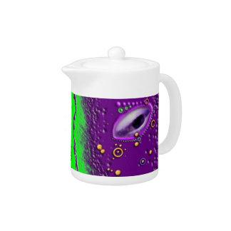 Acid Planet Teapot