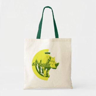 """""""Acid Rhino"""" Tote Bag"""