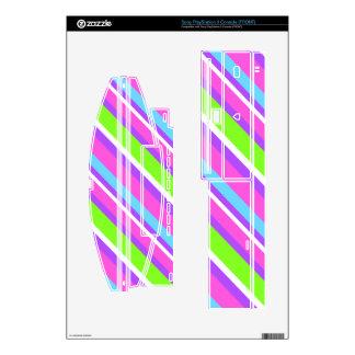 Acid Stripes PS3 Skin
