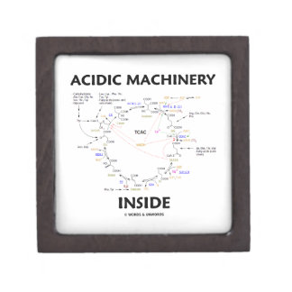 Acidic Machinery Inside (Krebs Citric Acid Cycle) Gift Box