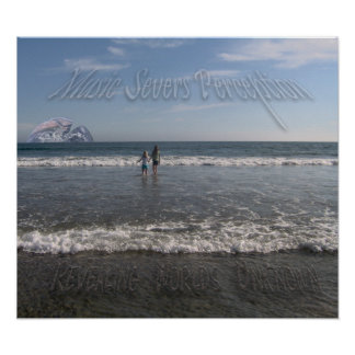ACIDMYERS Beach Poster