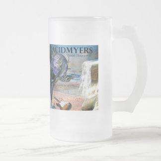 Acidmyers Frosted Glass Beer Mug