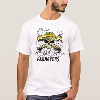 ACIDMYERS skull cross bones muscle... - Customized T-Shirt