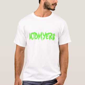 ACIDMYERS t-shirt