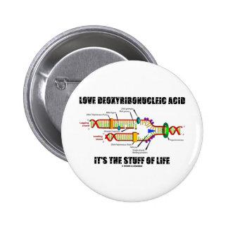 Ácido desoxirribonucléico del amor es la materia d pin