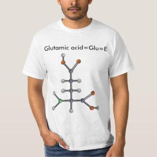 Ácido glutámico (aminoácido) playera