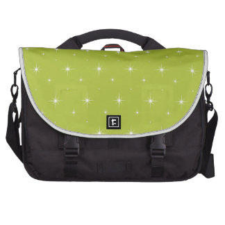 Ácido-Verde-Apple-Y-Brillante-Estrella-Elegante-Mo Bolsas Para Portátil