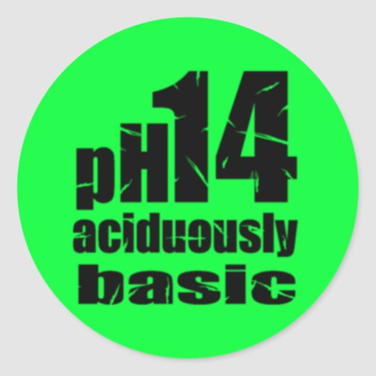 Aciduously Basic Attitude Sticker
