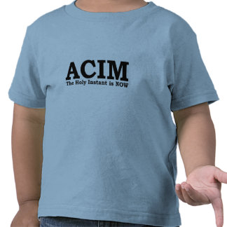 ACIM The Holy Instant is NOW T Shirt