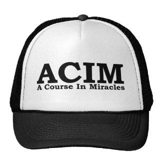 ACIM un curso en camiseta de los milagros Gorras