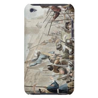 ack en el Boulogne-sur-Mer, grabado por Jean Bapti iPod Case-Mate Protectores