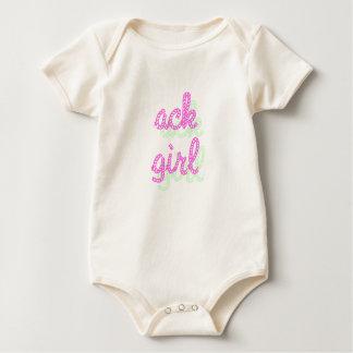 ack girl baby bodysuits