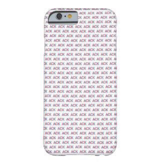 ACK pattern Nantucket iPhone 6 case