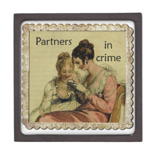 "Ackermann Friendship ""Partners in Crime"" Jewelry Box"