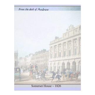 Ackermann Somerset House by Avon Letterhead
