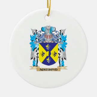 Ackeroyd Coat Of Arms Christmas Tree Ornament