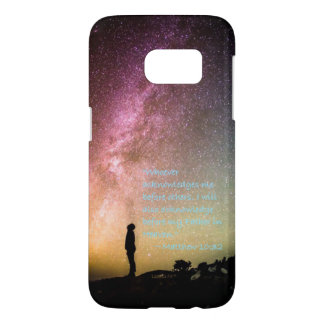"""Acknowledge Me"" Samsung Galaxy S7 Case"