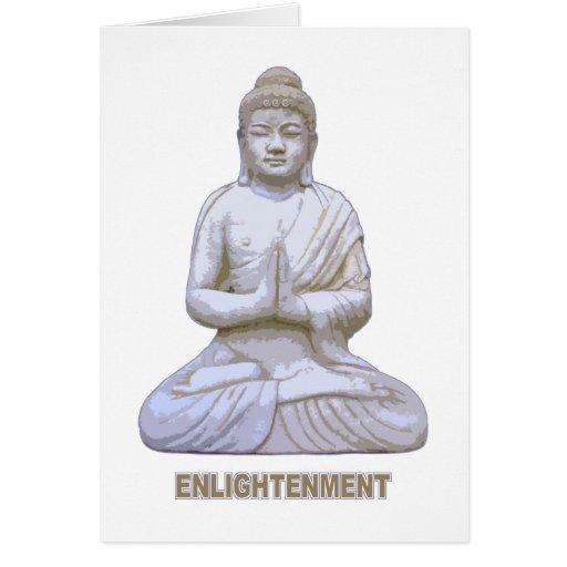 Aclaración de Buda Felicitaciones