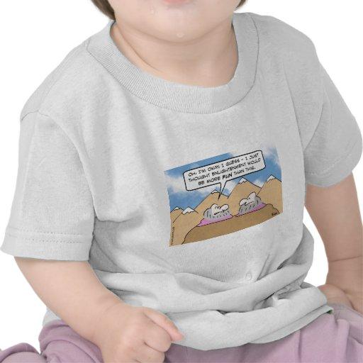aclaración de los gurúes más diversión que esto camisetas