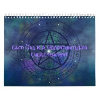 Aclaración de Wicca Calendarios De Pared