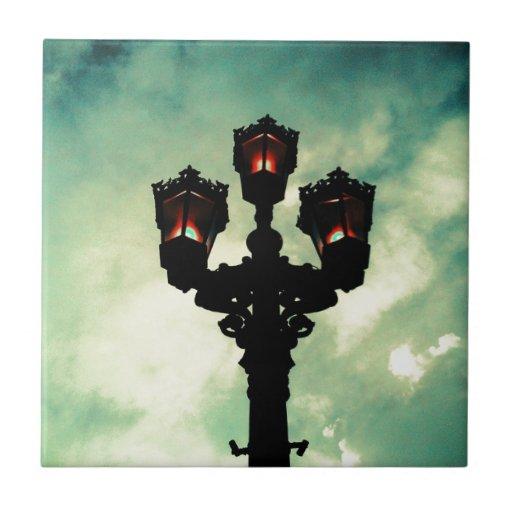 Aclare encima del cielo azulejos