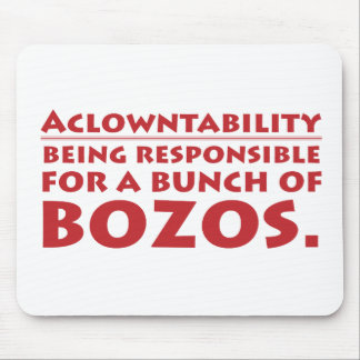 Aclowntability Mouse Pad