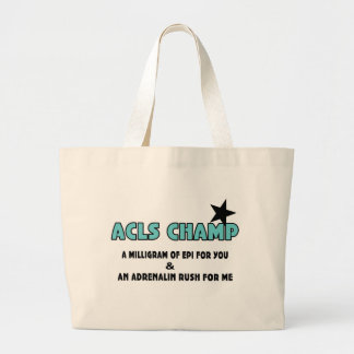 ACLS Champ Tote Bags
